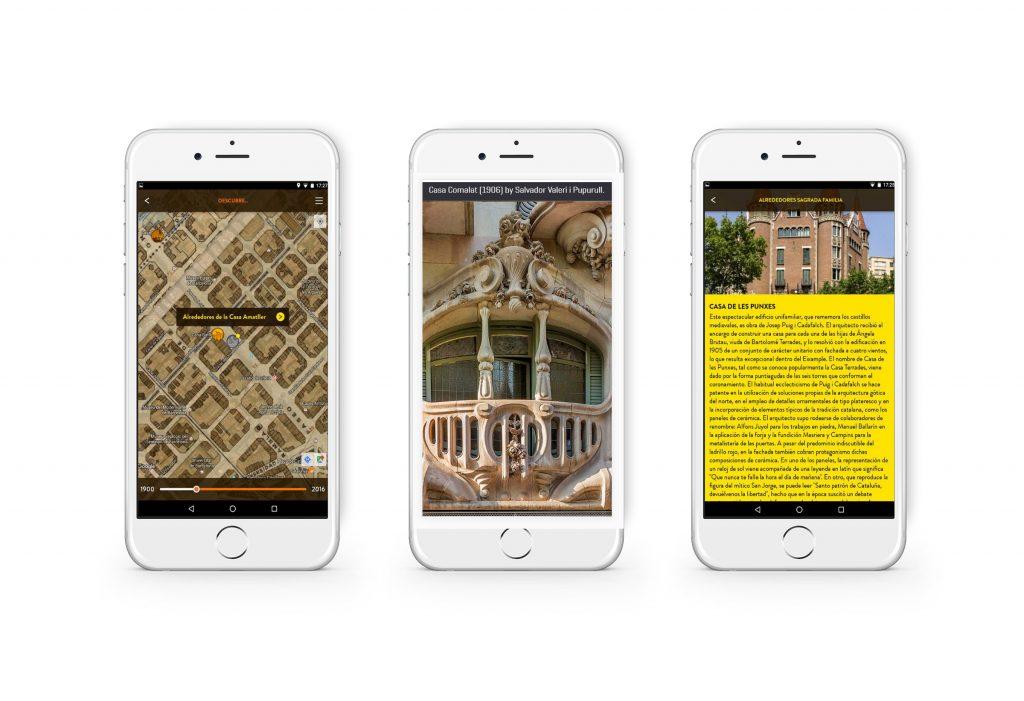App sobre el modernismo