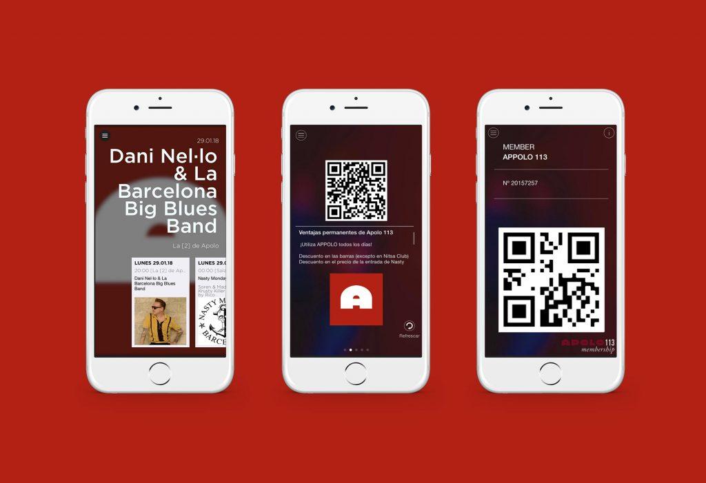 App para sala Apolo